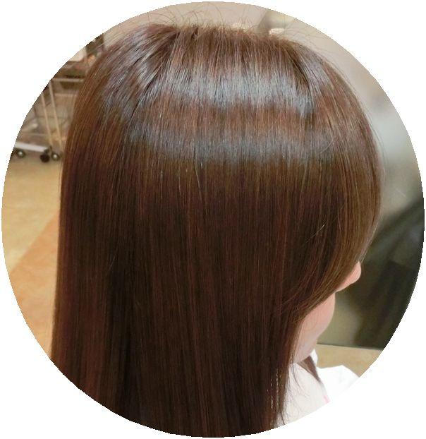 柔かな前髪を作るのはnatyのアクア保湿