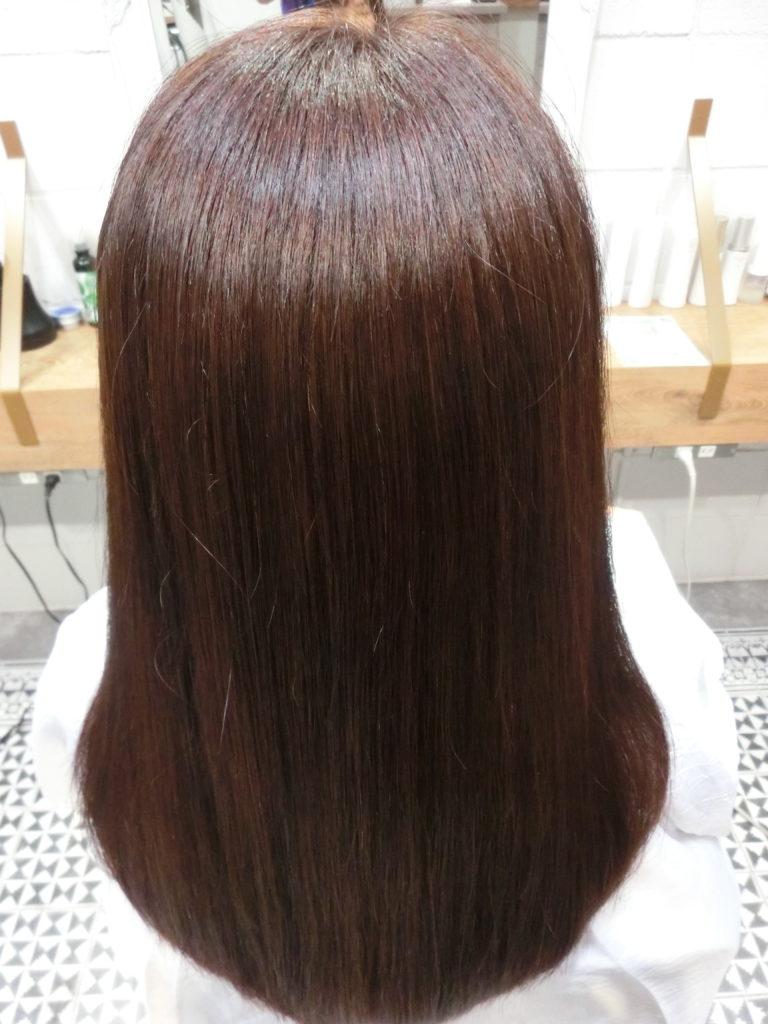 美髪髪質改善アクアシーム矯正トリートメント