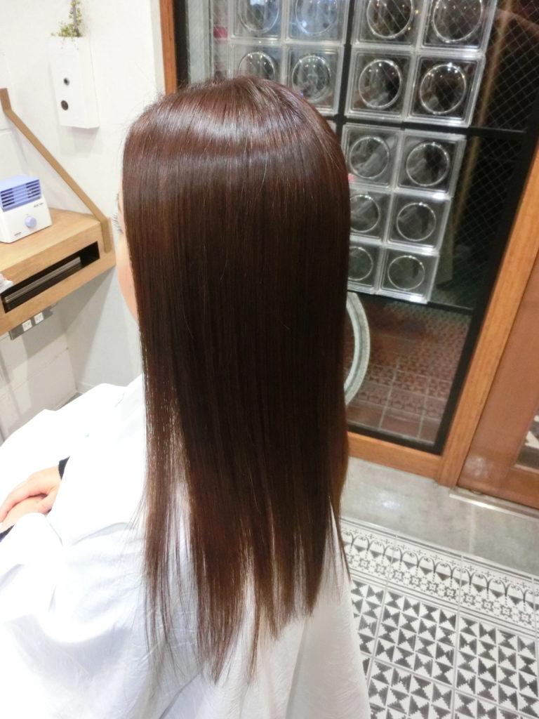 貴女の髪を健やかに子供の頃のような美髪へ導きます。