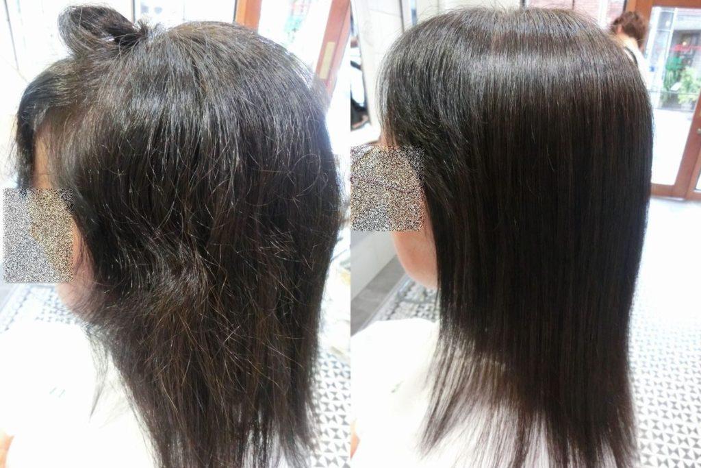美髪髪質改善技術アクア保湿エンパニ