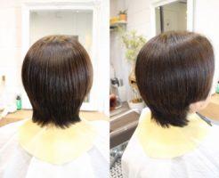 美髪縮毛矯正エンパニ、髪質改善トリートメントシルクレッチ
