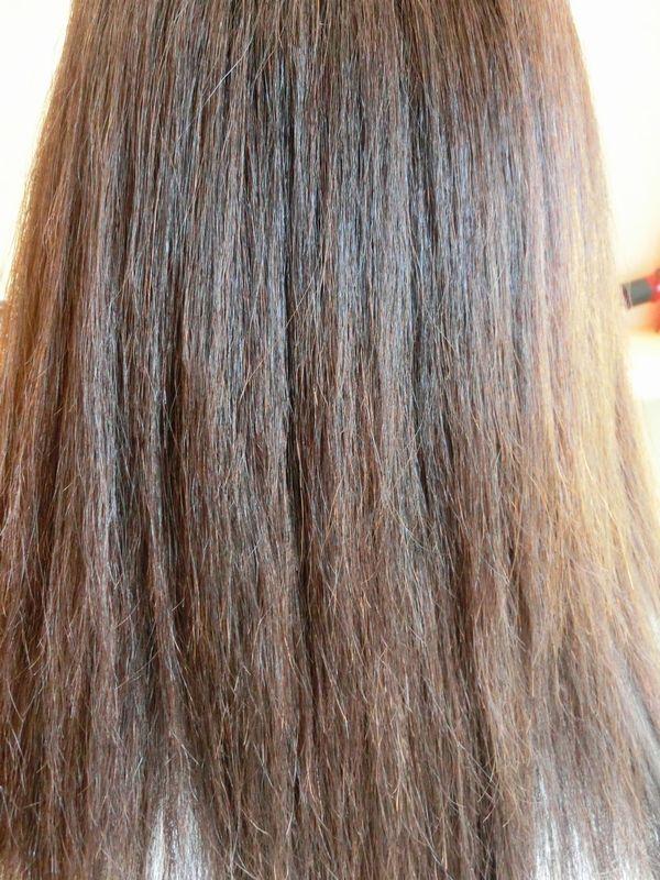 ハイダメージ縮毛矯正によるビビリ毛