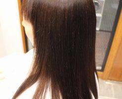 美髪縮毛矯正アクア保湿エンパニ・アクアシームの施術例施術後
