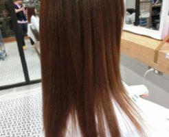 美髪アクアシーム縮毛矯正キレイな素髪に