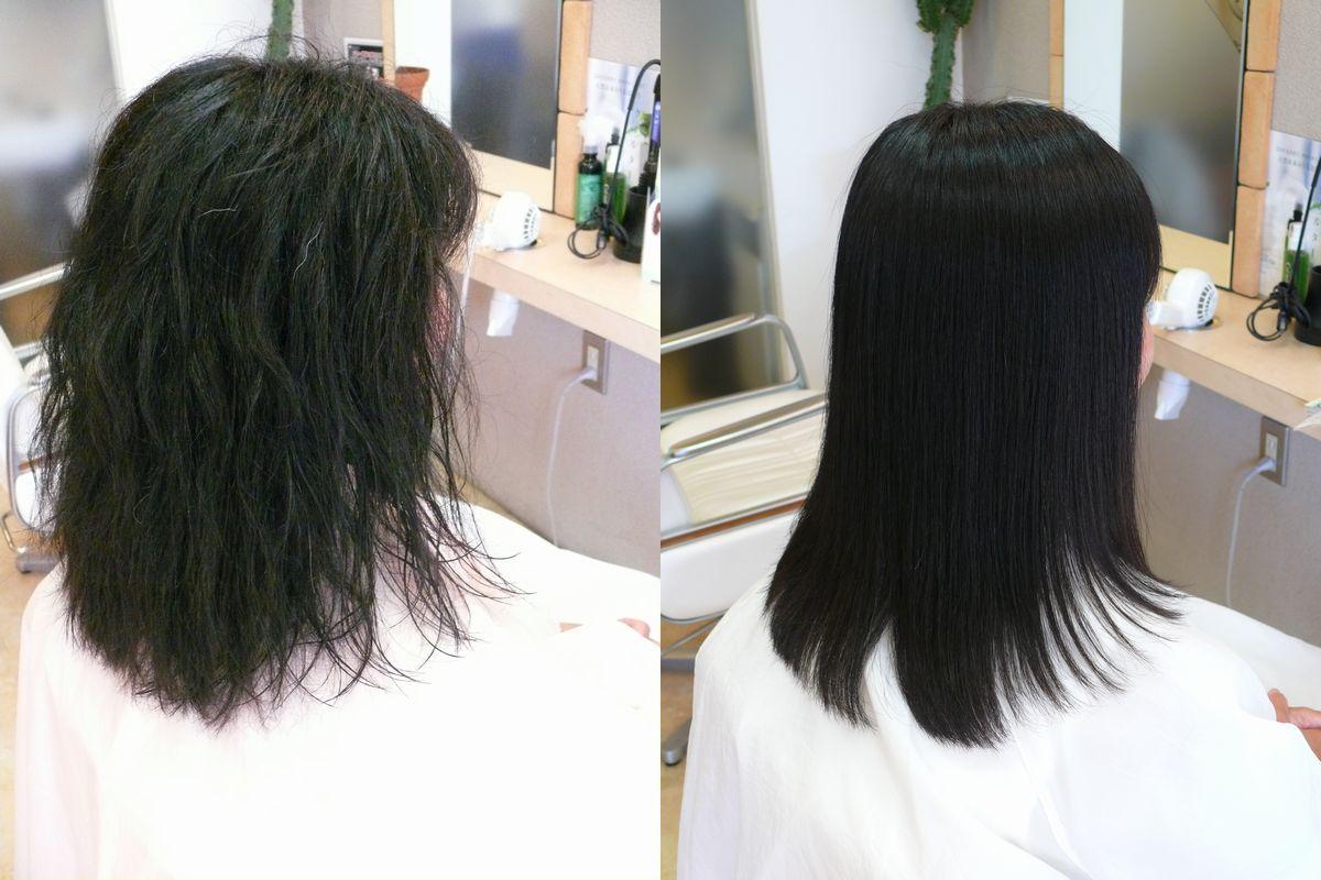 美髪縮毛矯正エンパニ施術内容2