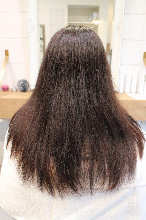 美髪髪質改善アクアシームカラー1