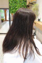 美は髪質改善アクアシームカラー2