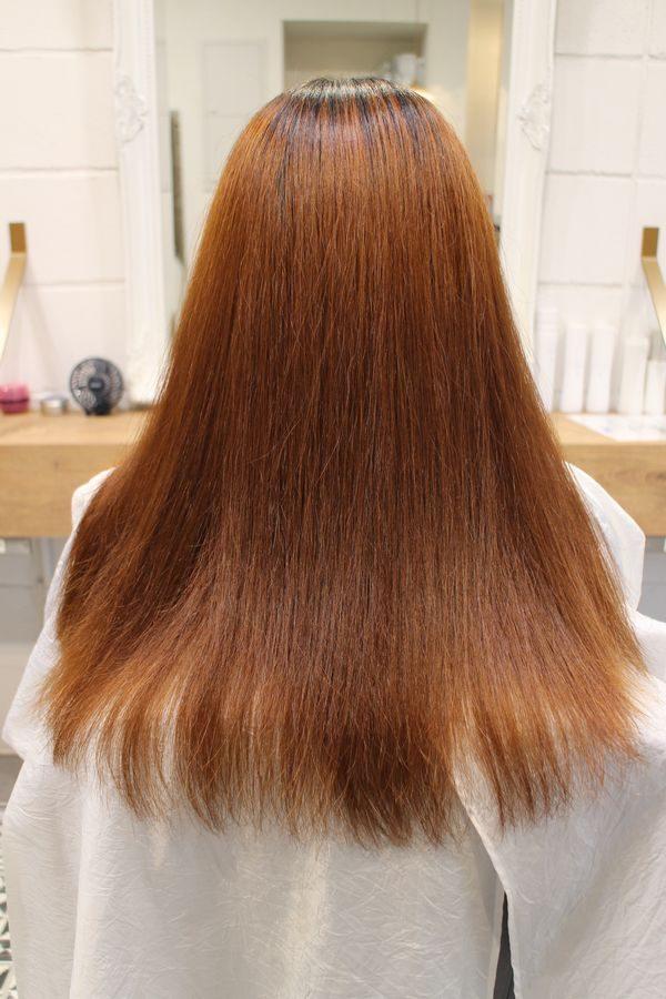 美髪髪質改善アクアシームカラー3