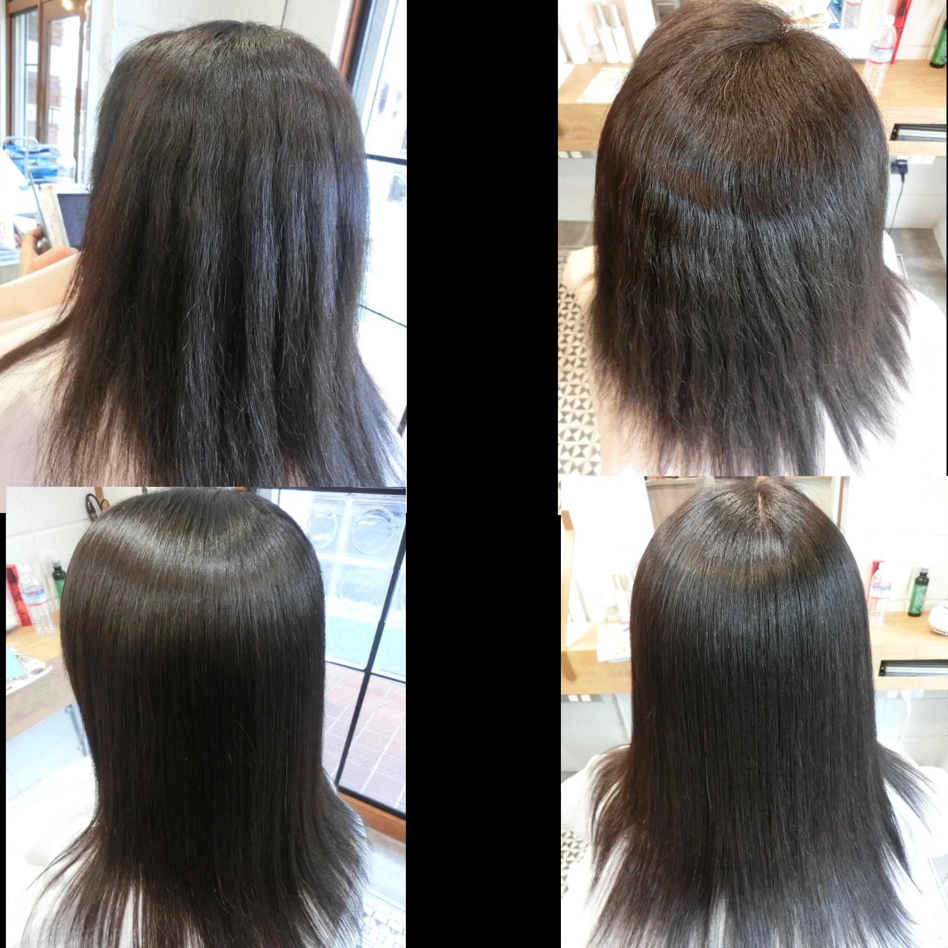 美髪髪質改善技術アクアシーム