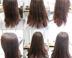 美髪縮毛矯正エンパニ+アクアシームトリートメント技術