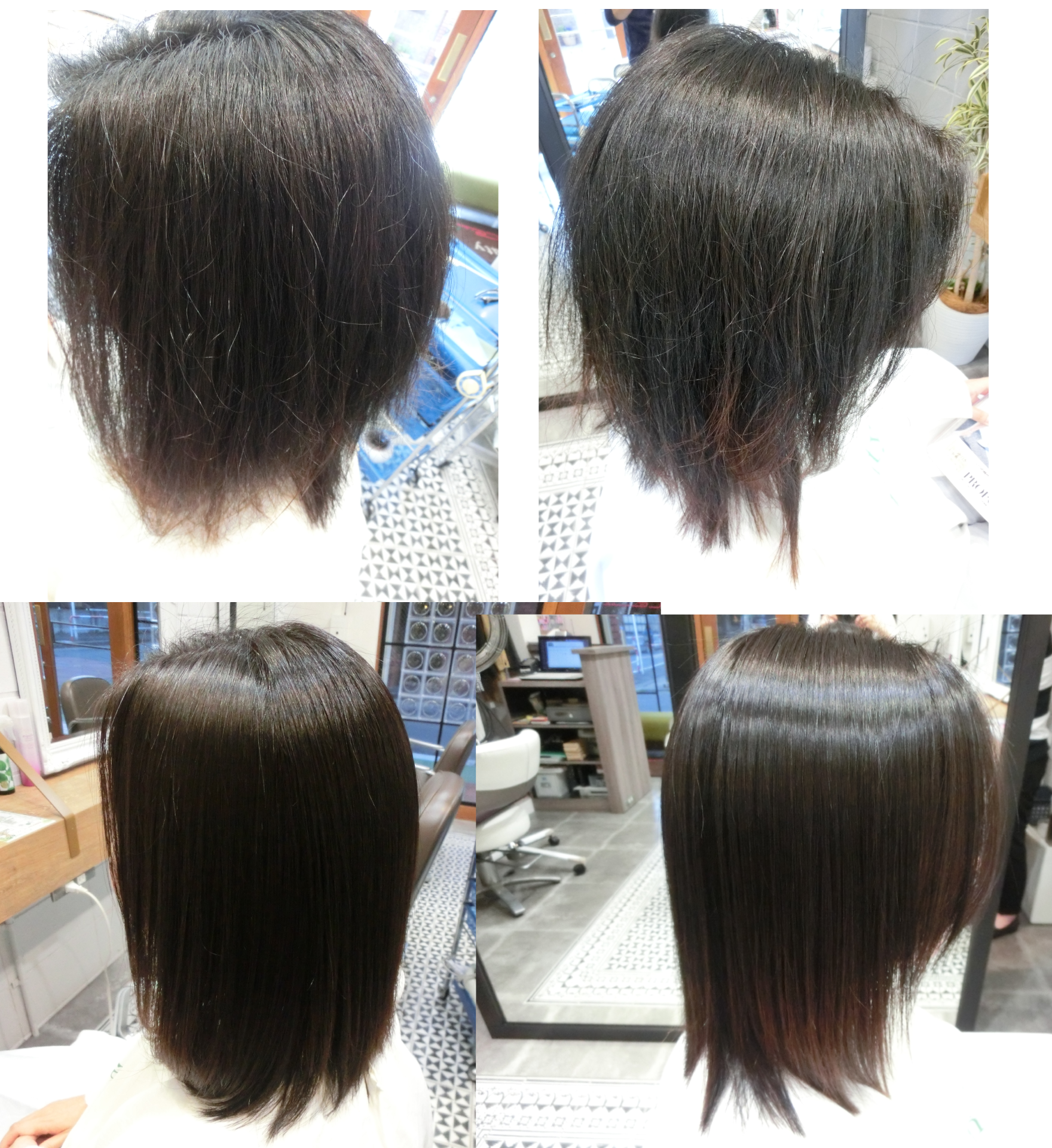 美髪髪質改善技術アクアシームトリートメント