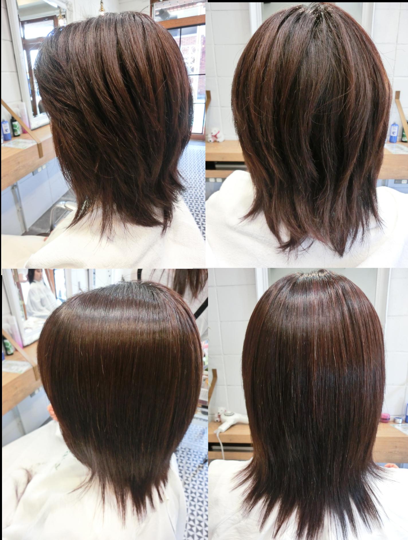 美髪髪質改善技術アクアシームT