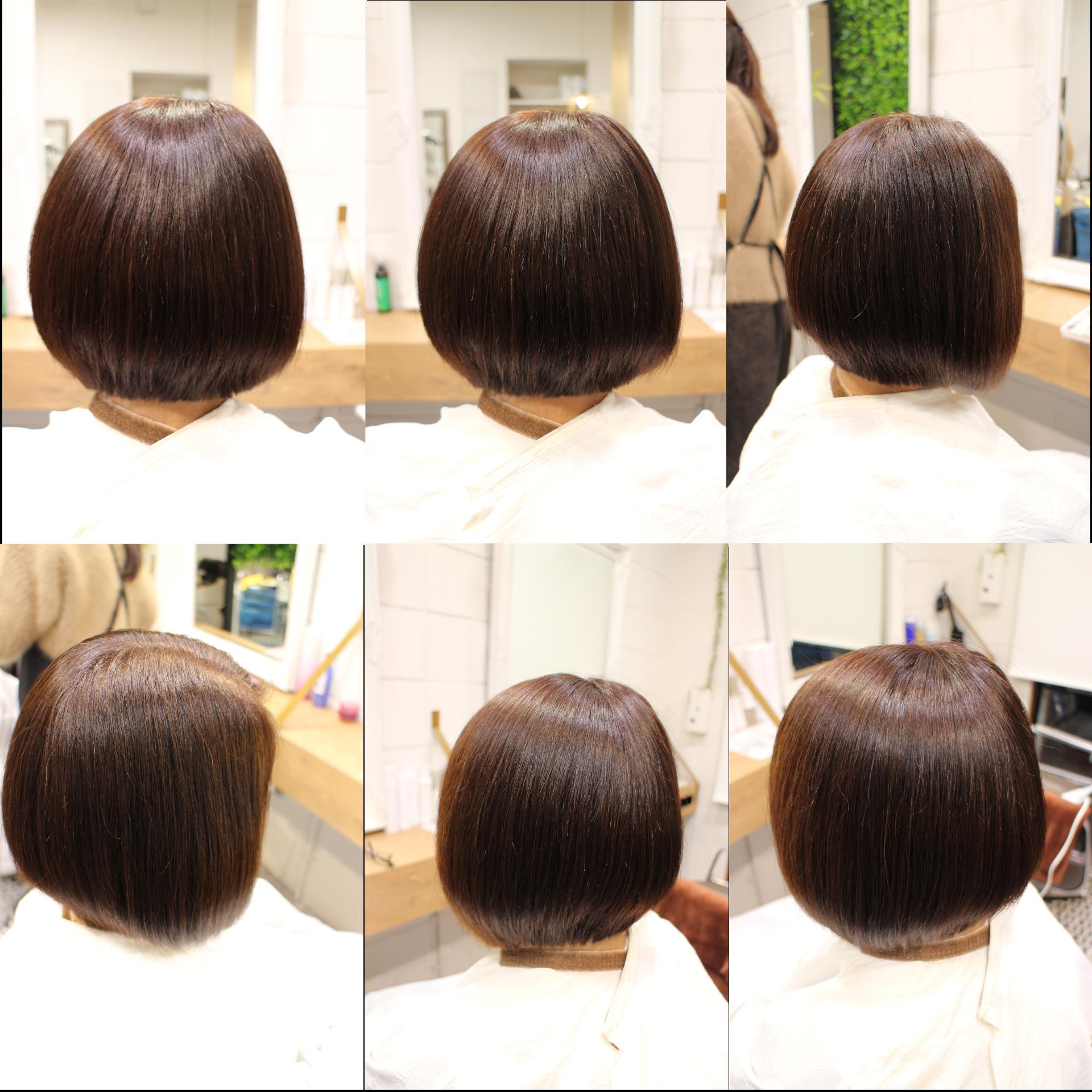 美髪髪質改善アクアシームトリートメント・ショートボブ1