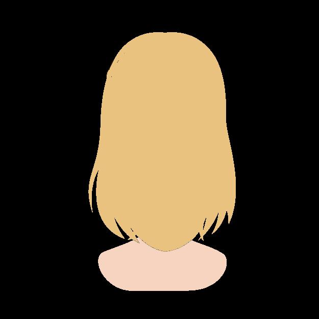 縮毛矯正のカラー毛