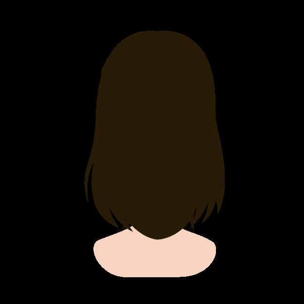 縮毛矯正バージン毛